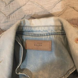 Blank NYC Jackets & Coats - Blank NYC embroidered jean jacket